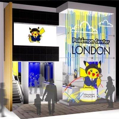 英国首家Pokémon Centre 限时四周Pokémon 伦敦快闪店10月18日开业 去吧皮卡丘