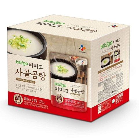 $13.39bibigo Korean Beef Bone Broth Soup 17.7 Ounce (6-Pack)
