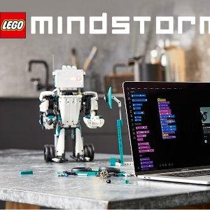 $390.99(原价$459.99) 新品史低价:Lego 乐高 MINDSTORMS 5合1头脑风暴机器人发明家 51515