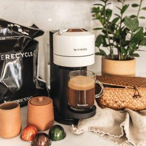 6.7折起 低至€74.99可收Nespresso 胶囊咖啡机限时折 香醇咖啡开启你的美好早晨