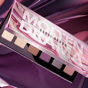 售价$59Bobbi Brown官网 上新10色眼影盘 超美金属粉紫色调