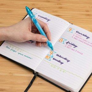免费BIC Gel-ocity 多彩中性笔套装多种可选,邮寄返现高达$16