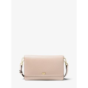 Michael KorsPebbled Leather Convertible Crossbody Bag