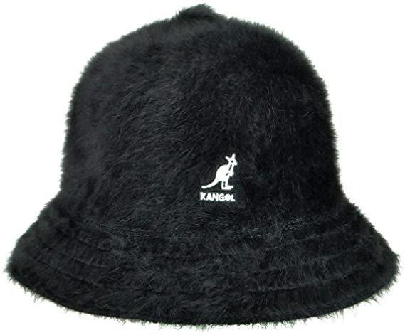 黑色logo秋冬款渔夫帽