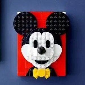 封面款£14.99 新品已上线LEGO官网 三月新品来袭 花果山、米奇米妮画框、保时捷911来啦
