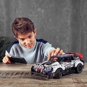 定价£124.99上新:LEGO 拉力赛车 42109 支持App 遥控 蓝孩纸的最爱来啦