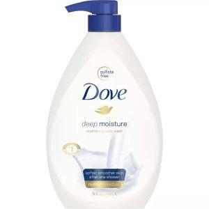 Dove保湿沐浴露34 fl oz