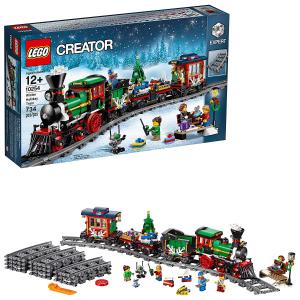 超值价¥503(旗舰店¥999)Lego 创意百变高手系列 冬季节日列车 10254