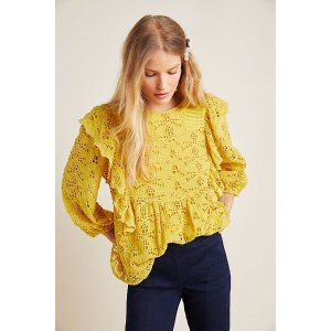 AnthropologieClementine Blouse