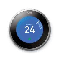 Google Nest 第3代智能恒温器 不锈钢版