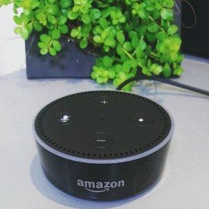 $59.99 (原价$69.99)Echo Dot Alexa语音助手蓝牙音箱 2代