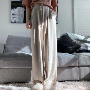 休闲直筒裤
