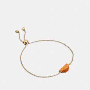 Orange Slice Slider Bracelet