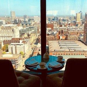 英式下午茶+23层曼城全景探店:Cloud 23餐厅---希尔顿最高层 B格满满 61胖2人行