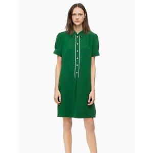 9747aada4700b Calvin KleinTake  50 Off Every  150 Spenttwill short sleeve shirt dress