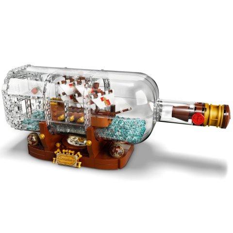 $119.9LEGO瓶中船 92177 复刻版 王者回归