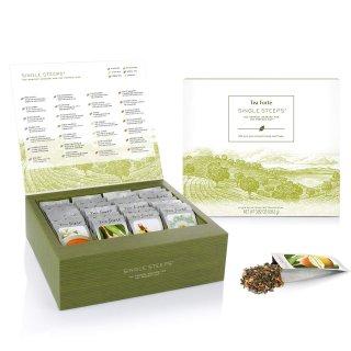 $19.6(原价$28)  小仙女的下午茶Tea Forté 28口味有机花草茶礼盒装