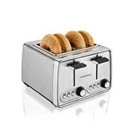 Amazon.com: Hamilton Beach Modern Chrome 4-Slice Toaster (24791): Kitchen & Dining