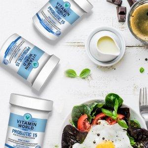 Buy 1 Get 2 FreeDealmoon Exclusive: Vitamin World Platinum Probiotic 15 Sale