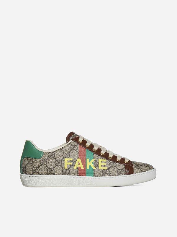 Fake/Not GG 老花运动鞋