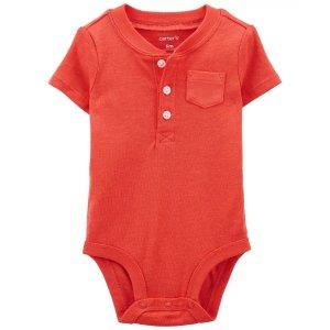 Carter'sHenley-Style Bodysuit