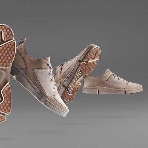 低至5折+额外7折Clarks官网男女鞋折上折特卖 $41.99收三瓣鞋