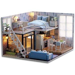 蓝色 loft公寓