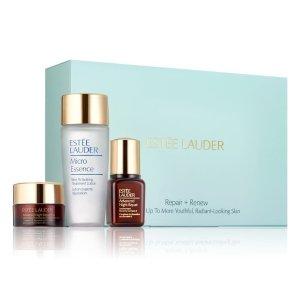 Estee Lauder价值$60小棕瓶系列套装