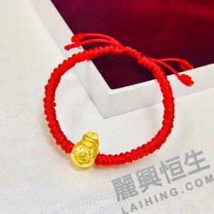 Lai Hing Group24K3D硬金类(24K 3D Gold) 8.5折24K3D硬金 福袋款手链