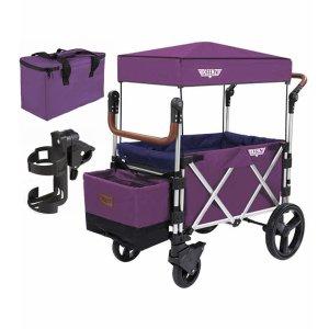 Keenz7S 多功能四轮折叠车 紫色
