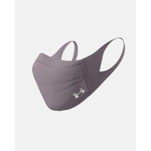2个$50UA 运动口罩 脏紫