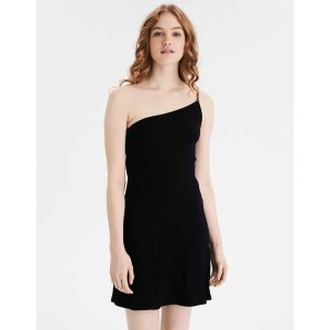 AEOAE One Shoulder Bodycon Mini Dress