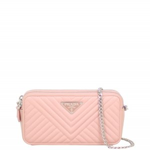 Prada Quilted Mini Chain Shoulder Bag