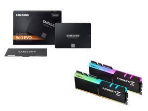 $379Samsung 860 EVO 1TB SSD + G.SKILL TridentZ RGB 16GB Memory