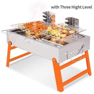 $31.95 (原价$39.99)闪购:烤串神器 RioRand 便携式不锈钢碳烧 BBQ烧烤炉
