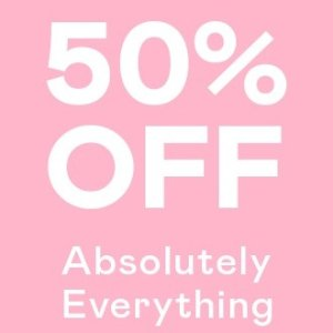 50% OffAbsolutely Everything @ Nasty Gal