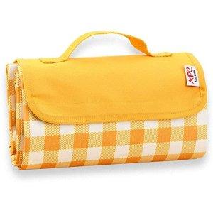 黄色格子野餐垫 145x200cm