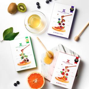 Amazon定价优势 + 低至5折折扣升级:Jayjun 天然果蔬面膜热卖 蜂蜜款仅$4.98