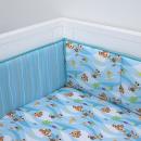 $14.99 Disney Icon 4 Piece Nursery Crib Bumper