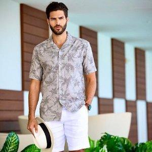 第2件半价Cubavera 精选男士休闲度假风服饰促销