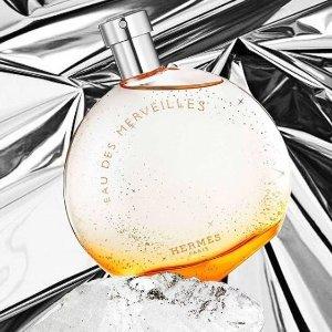 低至7折 £62入twilly香水套装Hermès 橘彩星光系列等香水热卖 自然持久留香