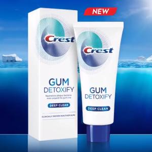 $11.99 Crest Gum Detoxify Deep Clean Toothpaste, 4.1 oz, Triple pack