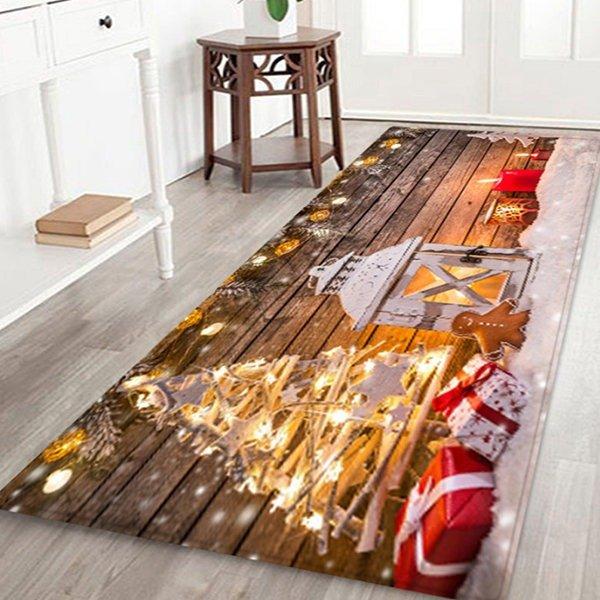 圣诞防滑地毯