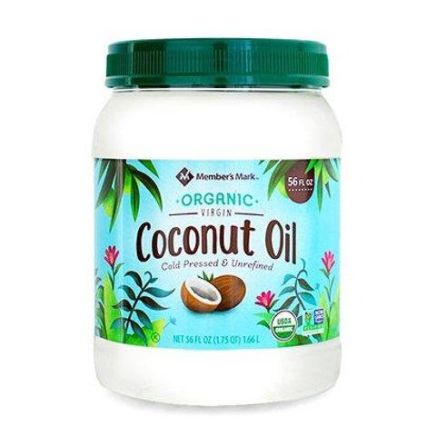 $7.84Member's Mark Organic Virgin Coconut Oil (56 oz.)