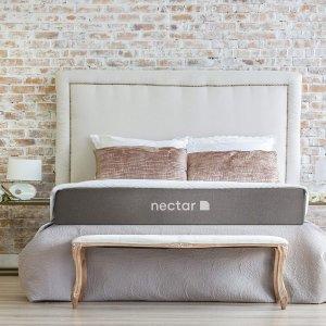 限今天:Nectar 高级记忆凝胶床垫 Queen尺寸 + 2个枕头