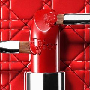 低至8折 满额送口红2件套礼盒11.11独家:Dior 美妆护肤最高减$100 收新款红管哑光唇釉