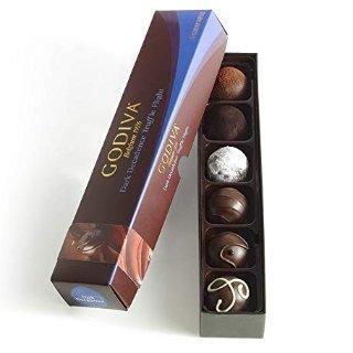 $11.90Godiva Chocolatier 黑巧克力松露礼盒 6粒装