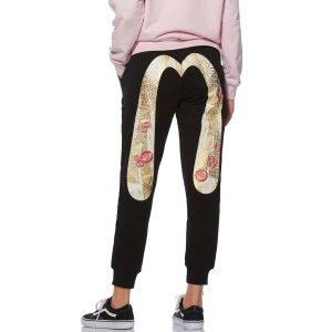 Evisu满3件享额外8折Foil-printed 和风绘大M卫裤