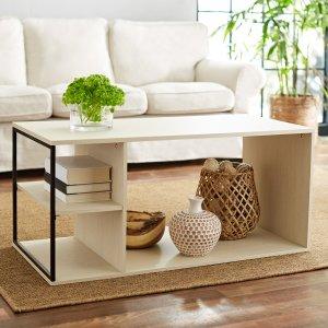 $17.2Mainstays Kalla Wood and Metal Coffee Table
