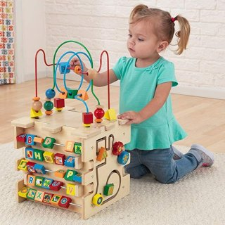 $39.99 近期好价KidKraft 豪华婴儿综合游戏 木质立方块
